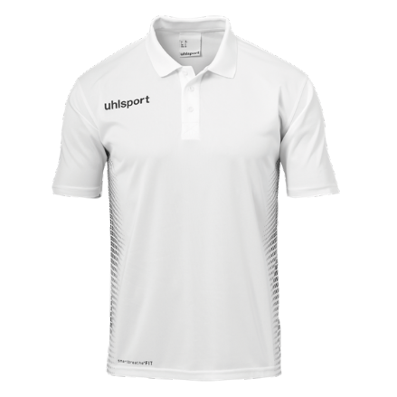 Score Polo Shirt White / Black